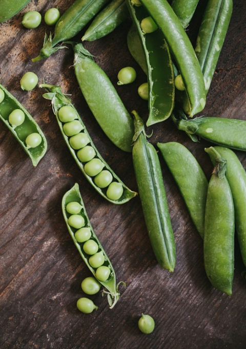 peas cropped